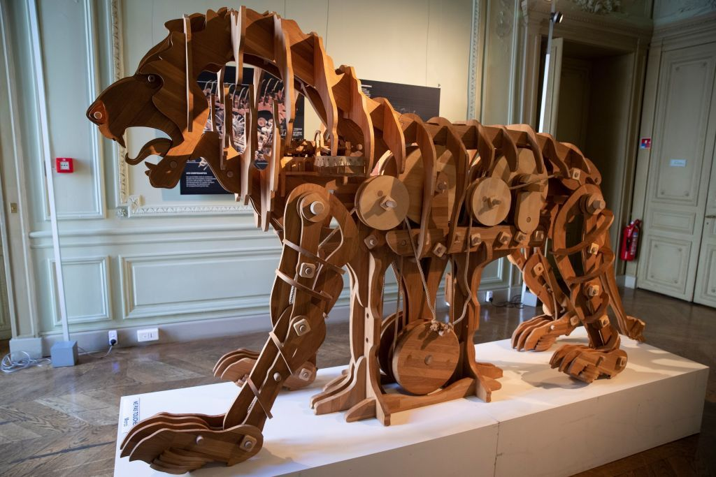 500 Years Later, da Vinci's Mechanical Lion Is Brought to Life