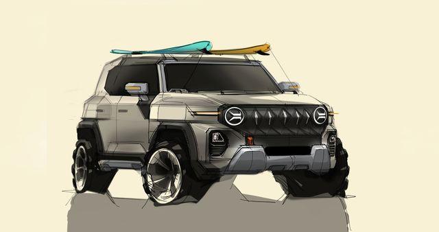 2021 ssangyong x200 concept