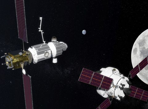 Satellite, Space station, Spacecraft, Space, Outer space, Vehicle,