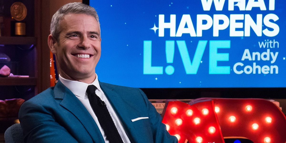 Andy Cohen Went from News Intern to the Face of Bravo—And Earned Millions Along the Way