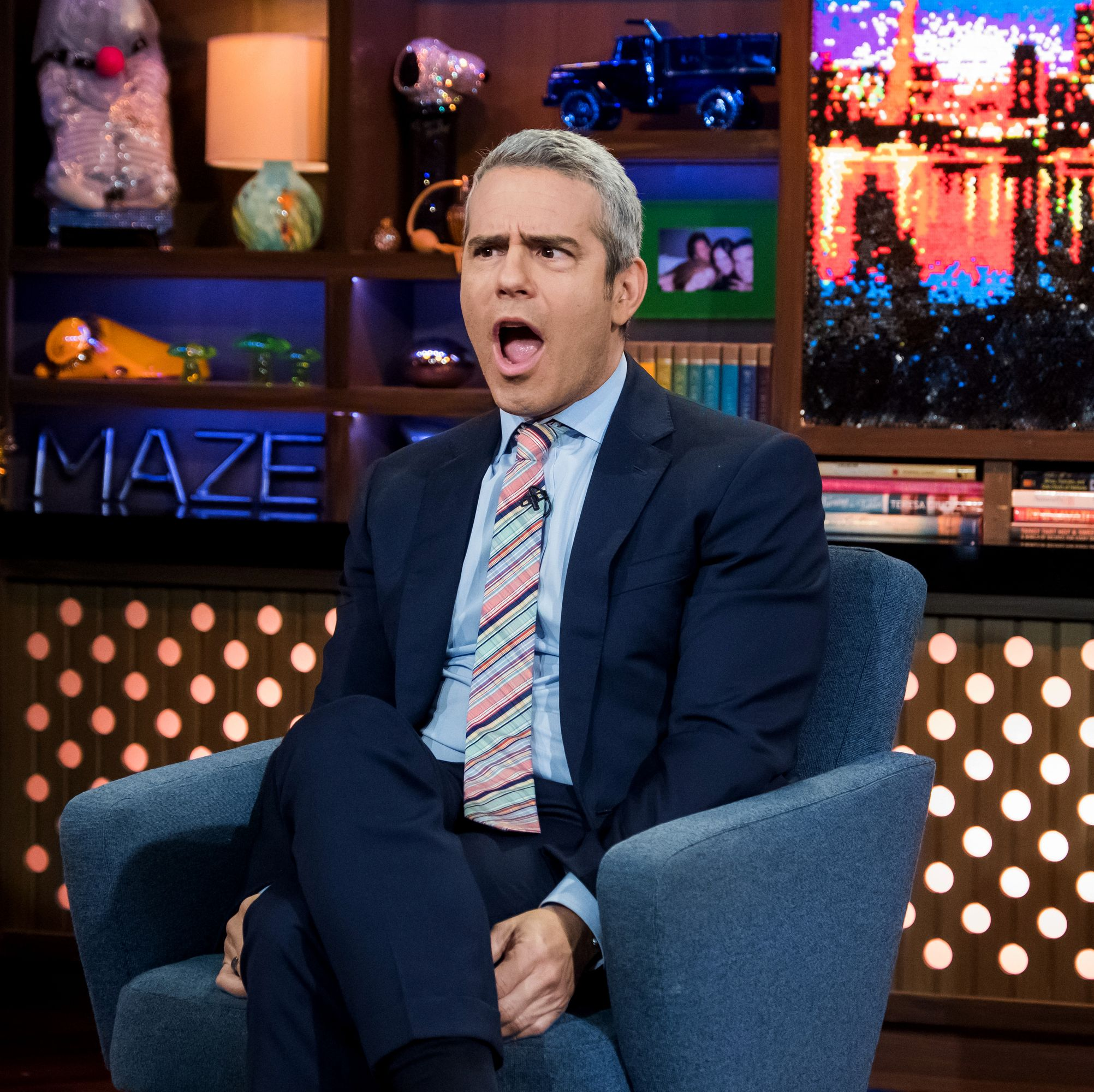 Andy Cohen Was Just Dad-Shamed for Taking His Newborn on an Airplane