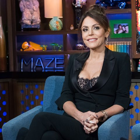 b52855971a Bethenny Frankel Says Her Severe Fish Allergy Forced An Entire Flight To  Turn Around