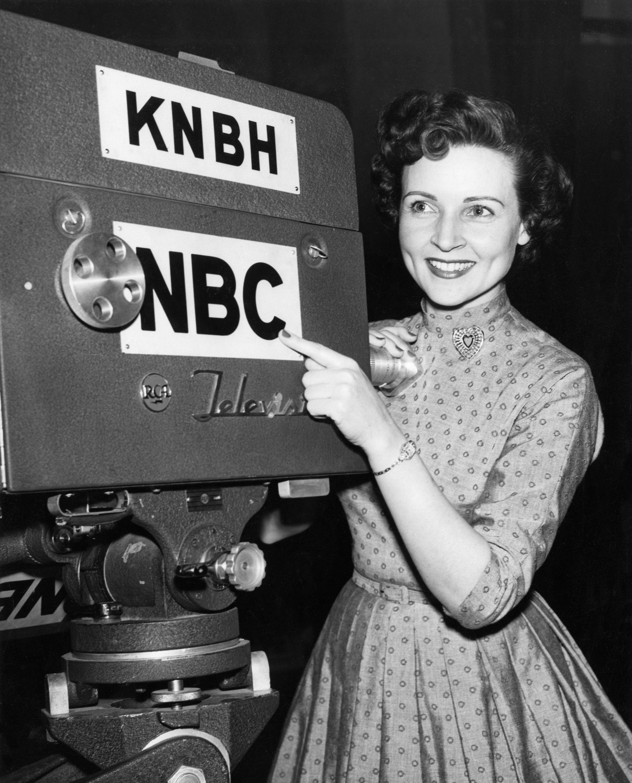 Betty White...
