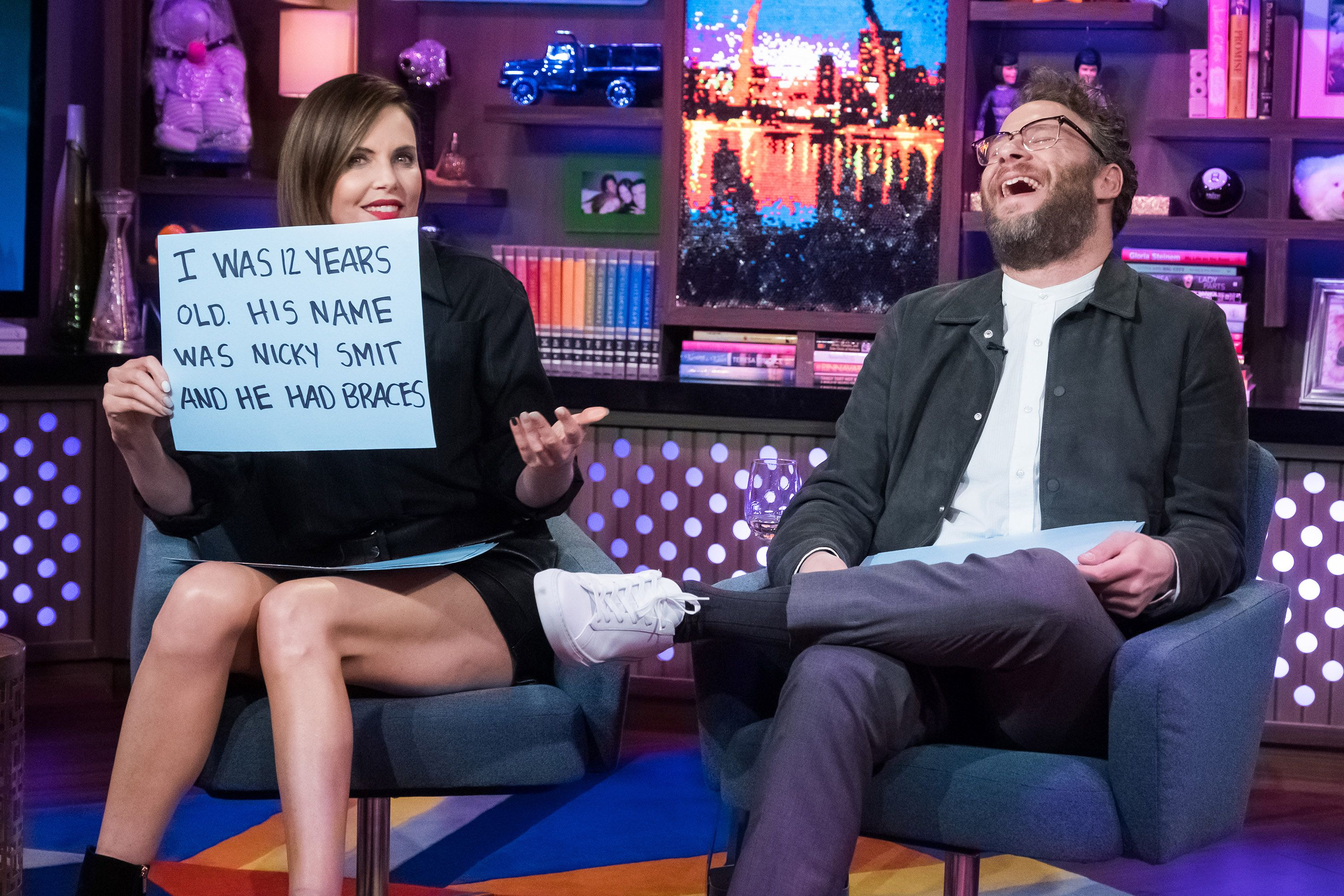 Seth Rogen's Dad Made The Most Hilariously Disgusting Sandwich We've Ever Seen