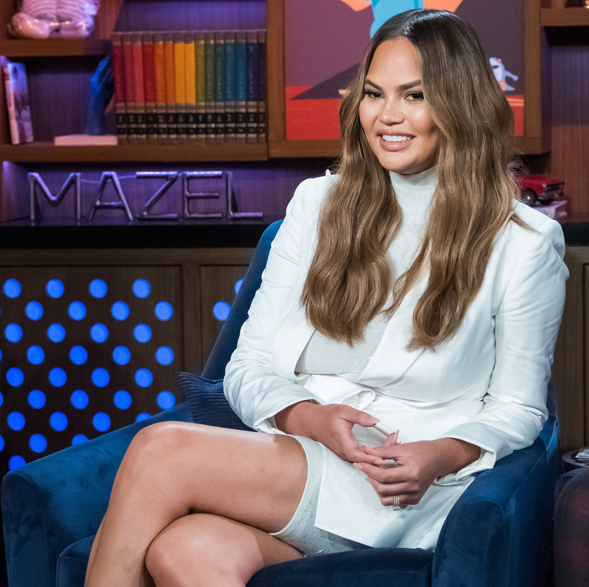Chrissy Teigen Just Shared Her New Fave No-Carb Snack On Twitter—And It's Totally Keto