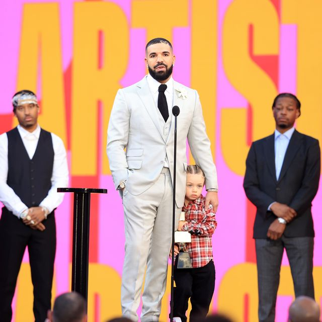 See Drake Brings Son Adonis Onstage for 2021 Billboard Music Awards