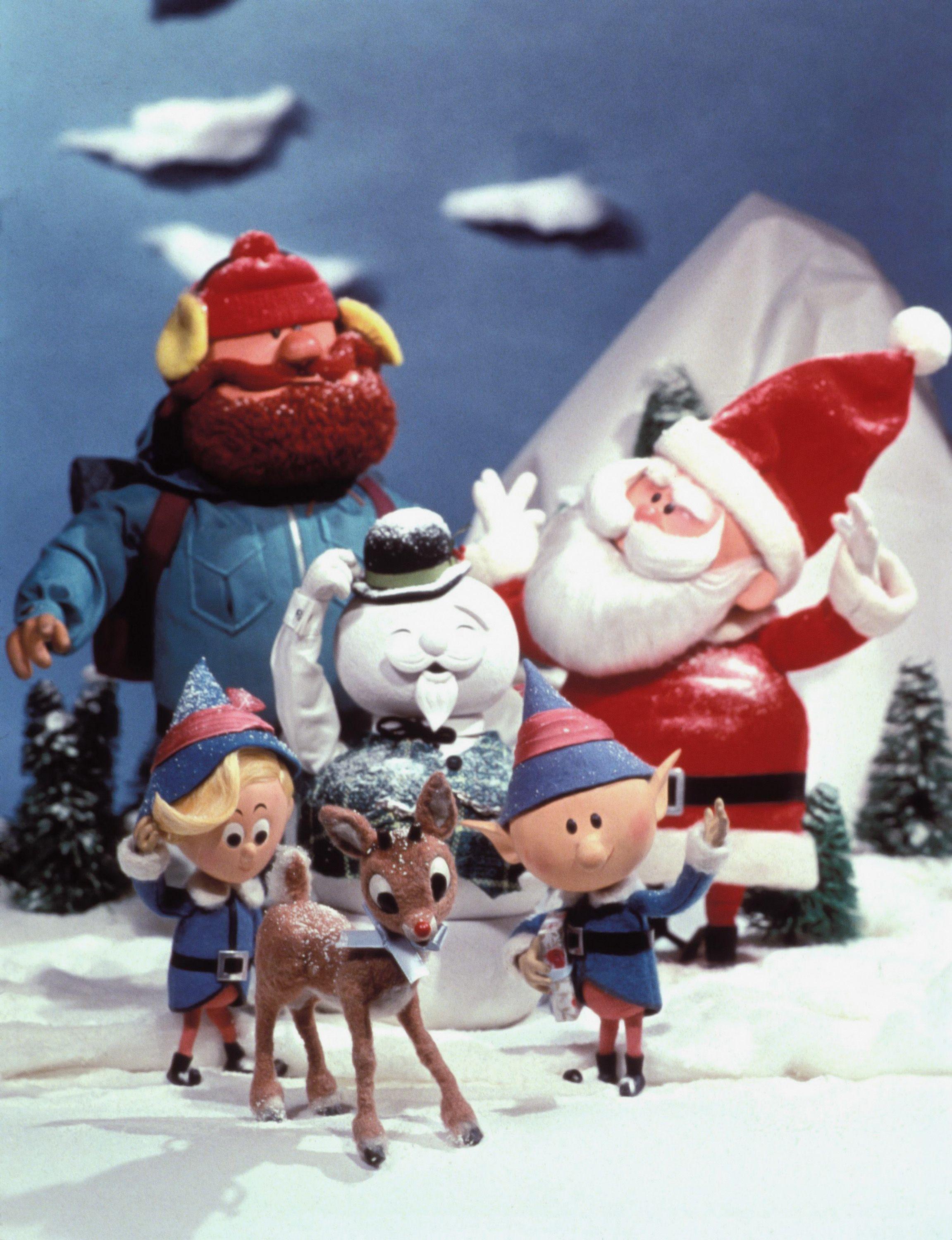 Rudolph Christmas Movie Characters.Rudolph The Red Nosed Reindeer Sparks Mystery About Island