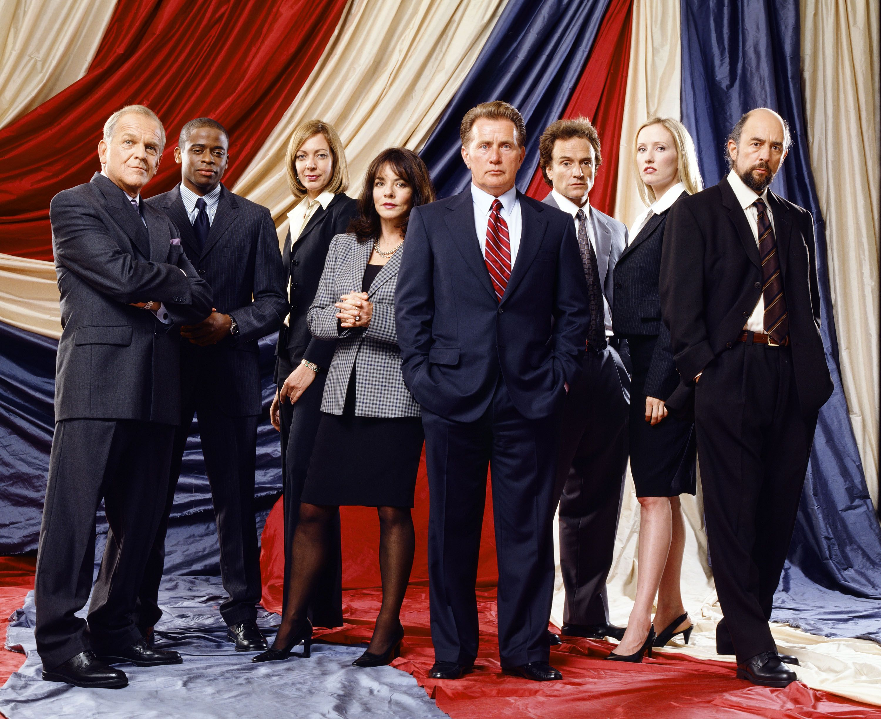 The Cast of The West Wing, Then and Now