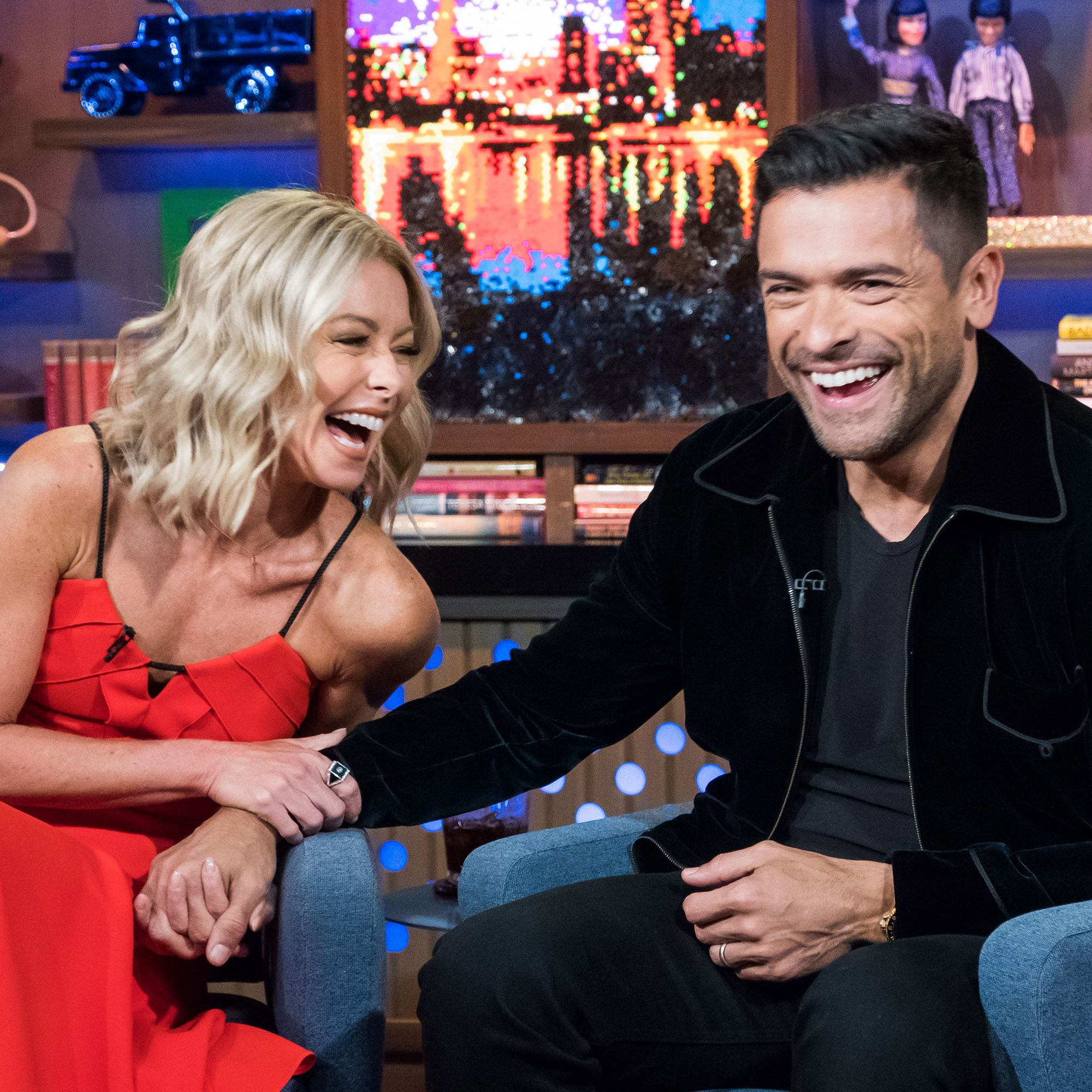 Mark Consuelos Reveals He and Kelly Ripa Broke Up Right Before Getting Married