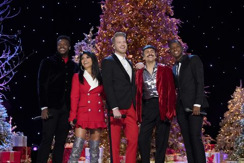 Pentatonix Christmas Deluxe.The Pentatonix Releases 2018 Christmas Album Christmas Is Here