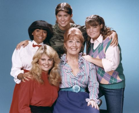 Charlotte Rae in 'The Facts of Life'
