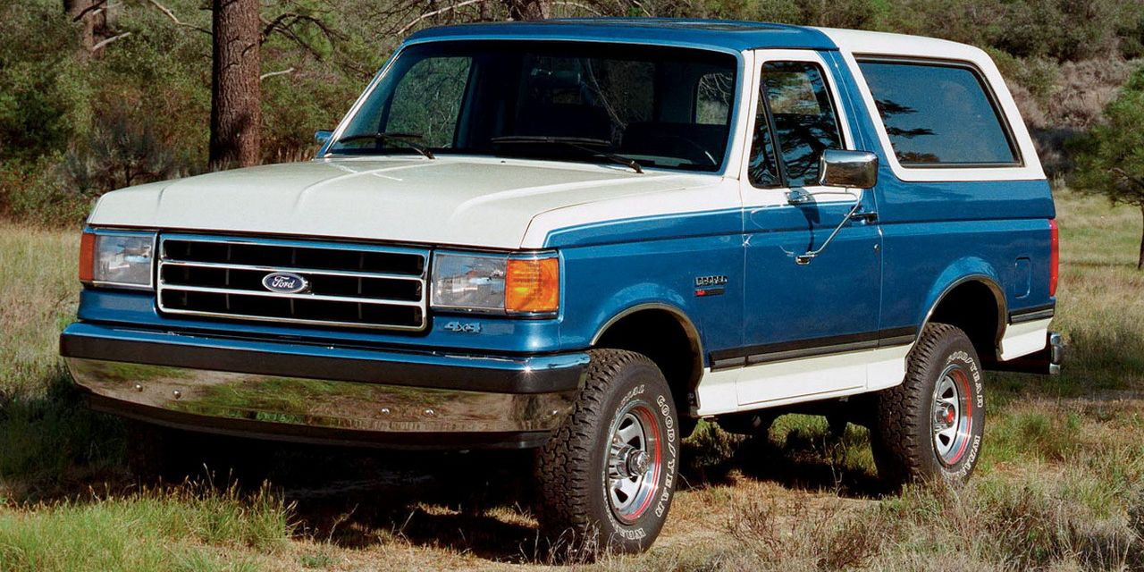 The 1988 Ford Bronco Xlt Was A Surprisingly Good Truck