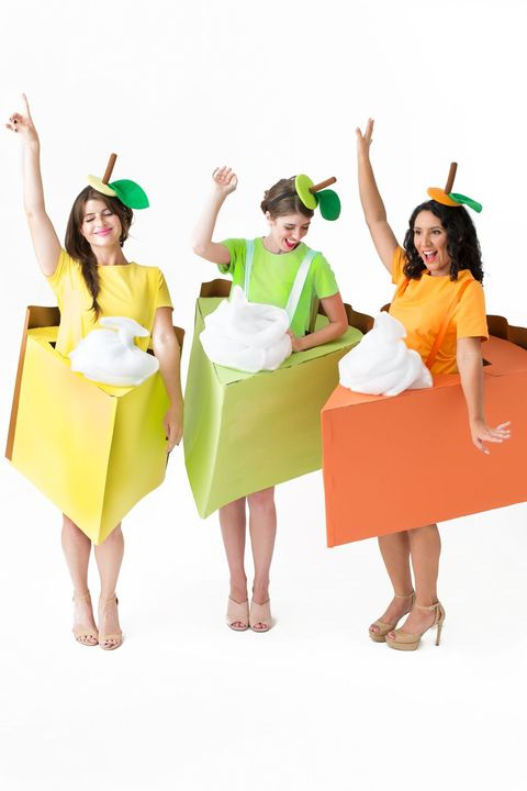 costumes for 3 people pie