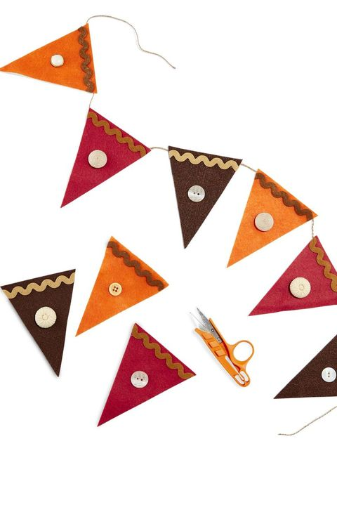 thanksgiving crafts for kids  felt garland