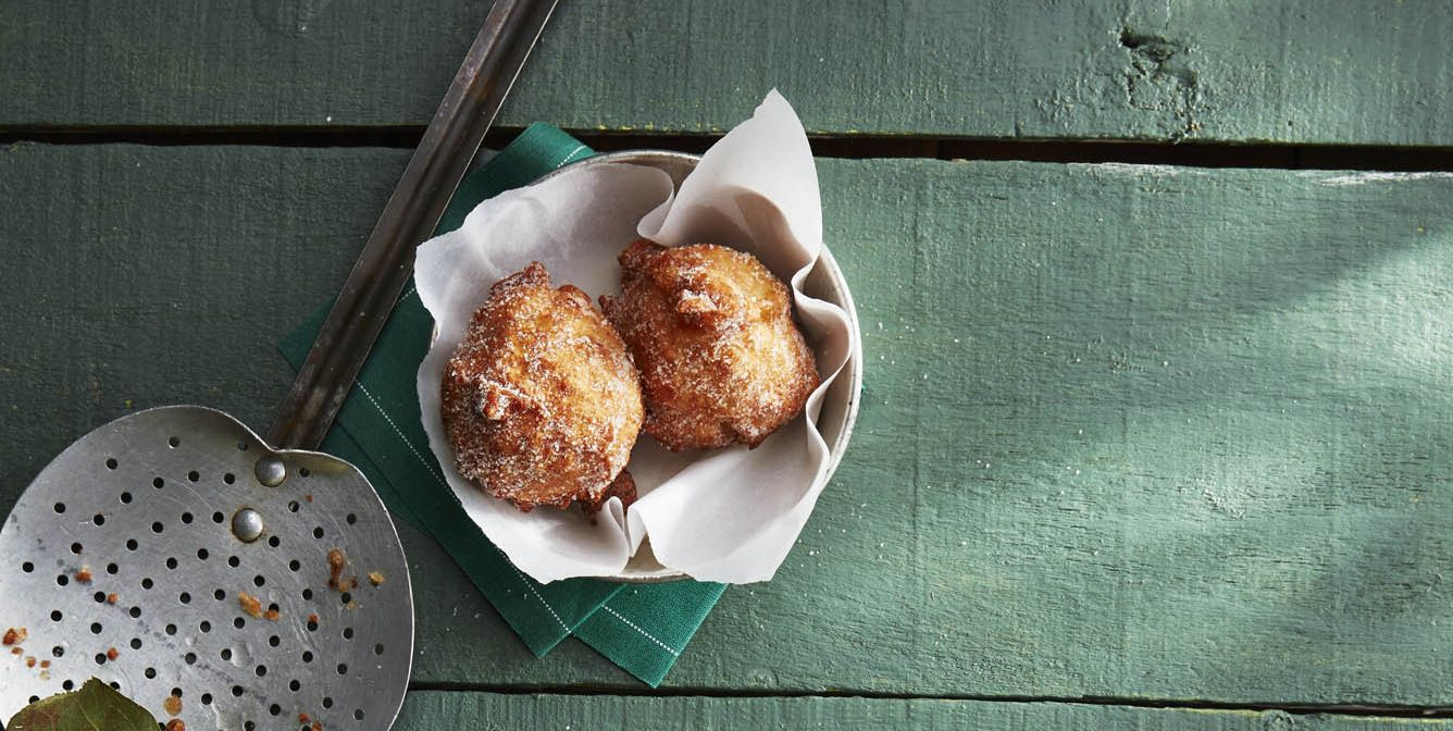 Pie-Spiced Apple Fritters