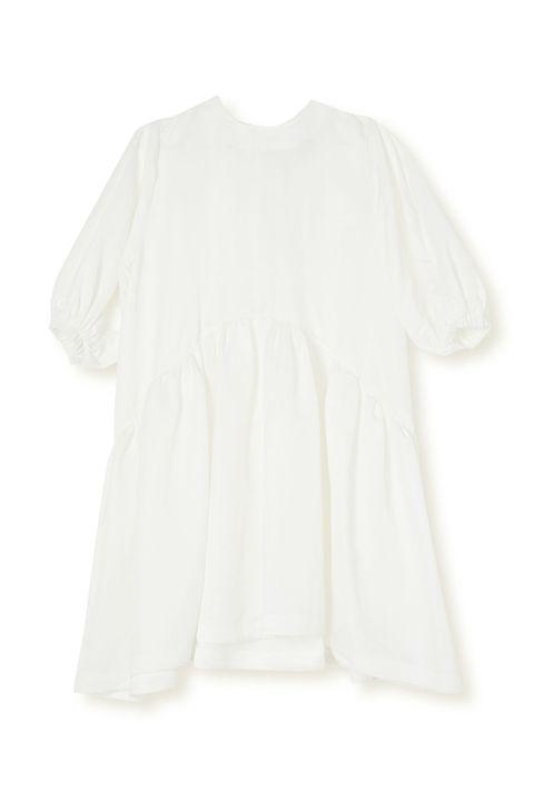 piece of white dress   seasonless dresses