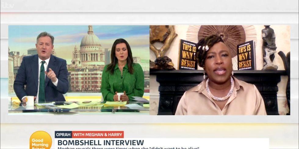 Watch Activist Dr. Shola Mos-Shogbamimu Calls Piers Morgan 'Disgusting' For His Royals Coverage