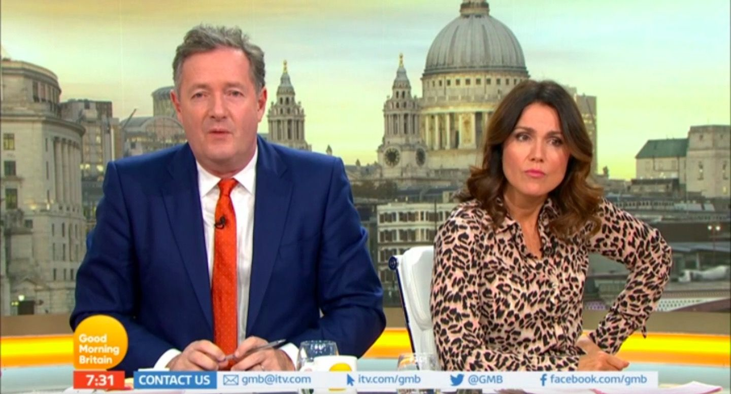 Good Morning Britain's Susanna Reid reveals off-camera feud with Piers Morgan