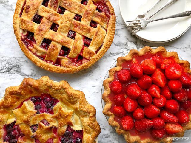 variation of pies