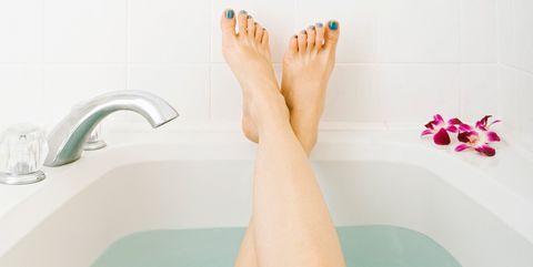 bañera pies