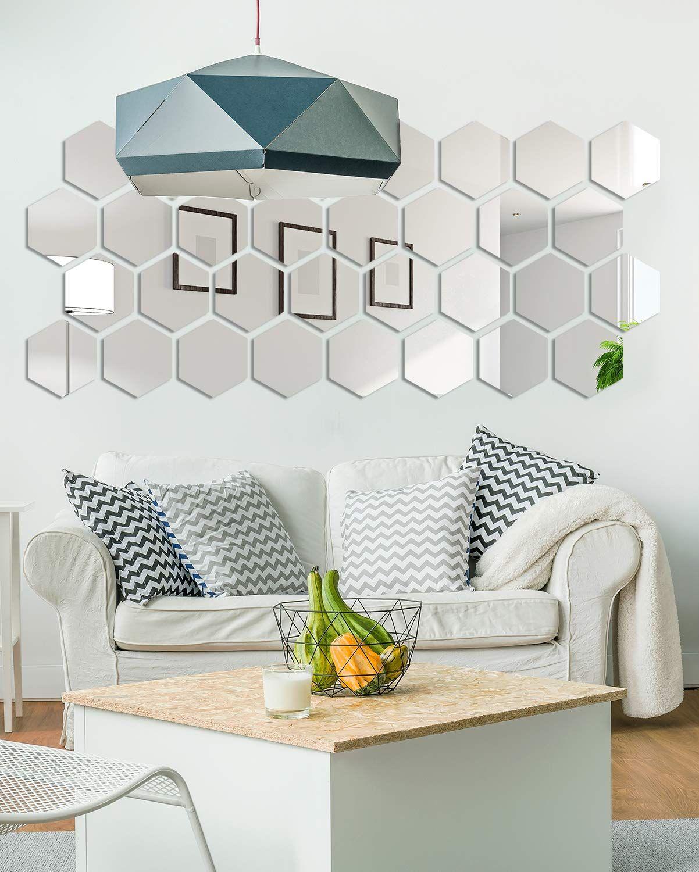 Piezas de espejo para colocar en la pared