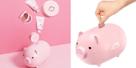 韓國MISSHA,MISSHA,豬年,小豬存錢筒,粉紅,韓國限定,豬年彩妝,PIG DREAM