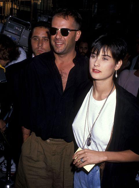 I pigiami coordinati di Demi Moore e Bruce Willis di nuovo insieme