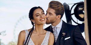 Pilar Rubio y Sergio Ramos comparten su primer mensaje como marido y mujer