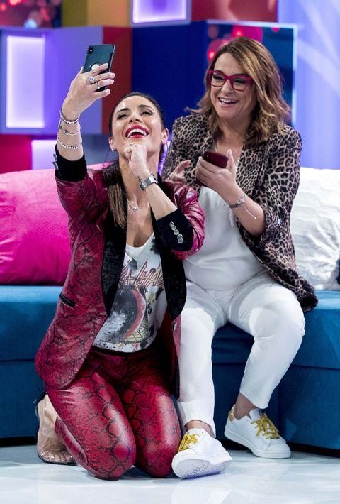 Pilar Rubio Toñi Moreno selfie