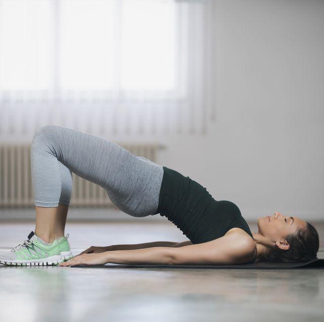pilates oefeningen kun je makkelijk thuis doen