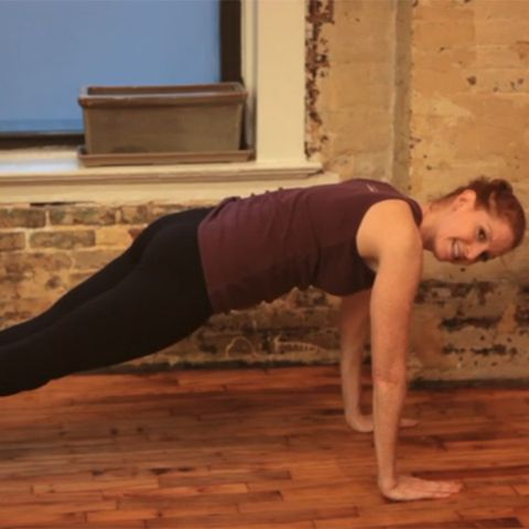 The Pilates Push-Up