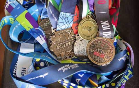 Christmas Running Medals.Why I Can T Konmari My Race Medals