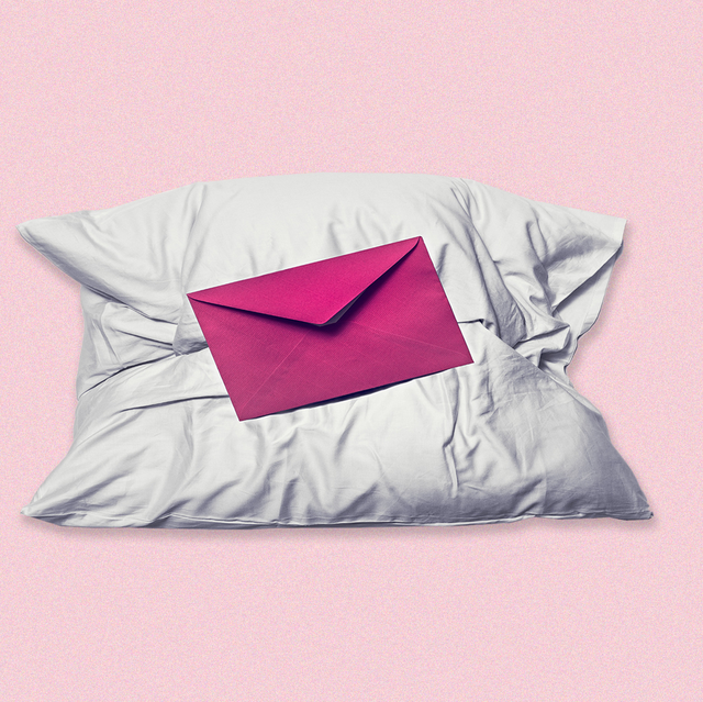 pillow with a letter on it
