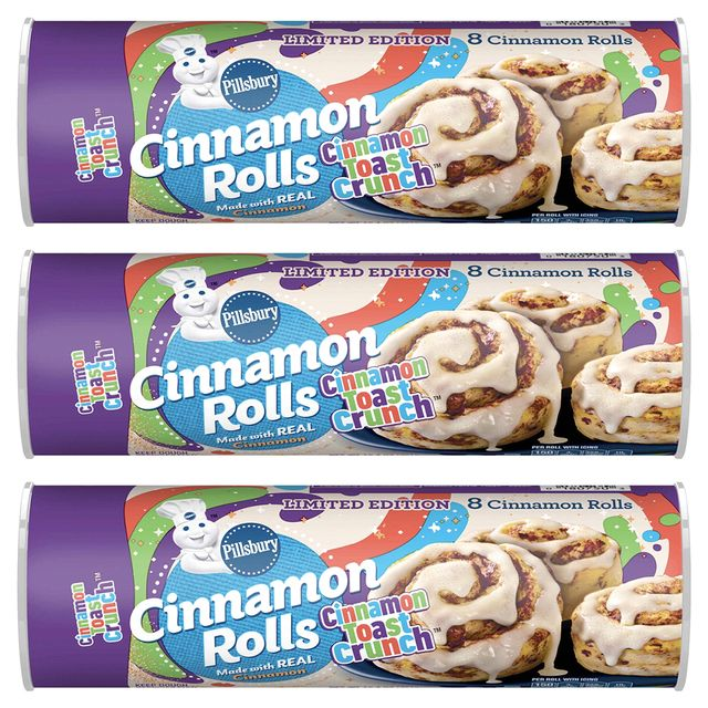 pillsbury cinnamon toast crunch cinnamon rolls