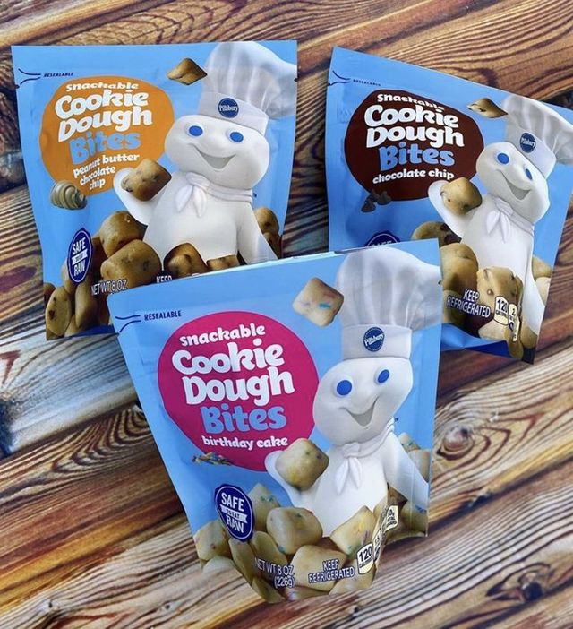 pillsbury cookie dough bites
