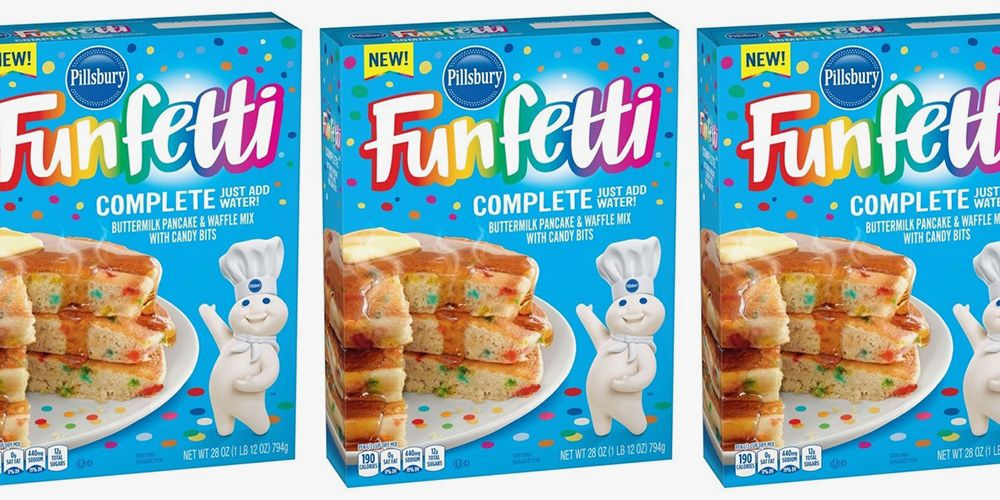 Pillsbury Now Has Funfetti Pancake & Waffle Mix, So You'll Actually Look Forward to Mornings