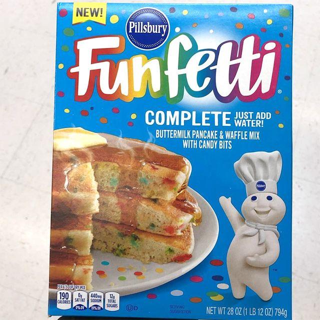 pillsbury funfetti pancake and waffle mix