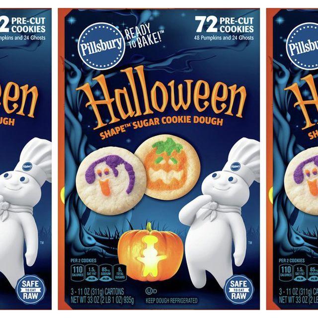 pillsbury halloween shape sugar cookie dough