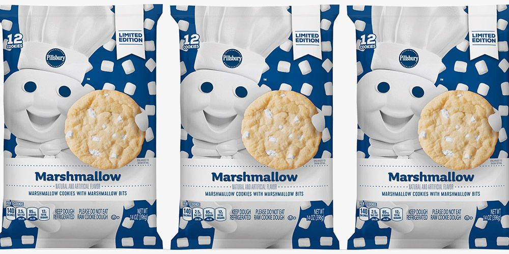 Pillsbury Ready To Bake Marshmallow Sugar Cookies Are