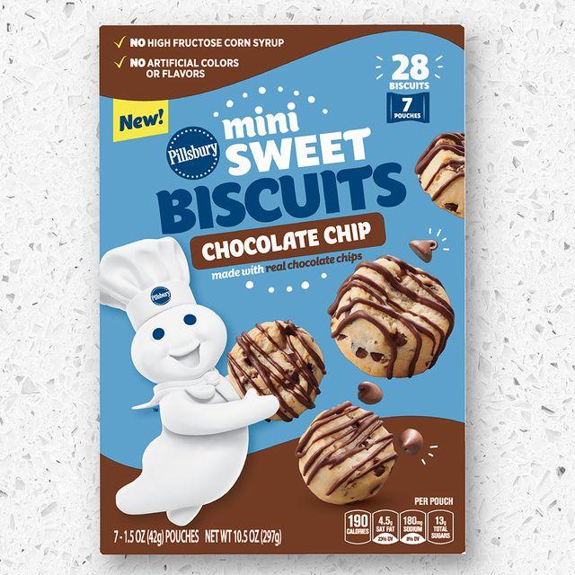 pillsbury mini sweet biscuits chocolate chip