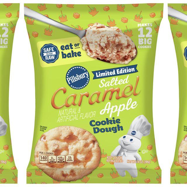 pillsbury safe to eat raw salted caramel apple cookie dough
