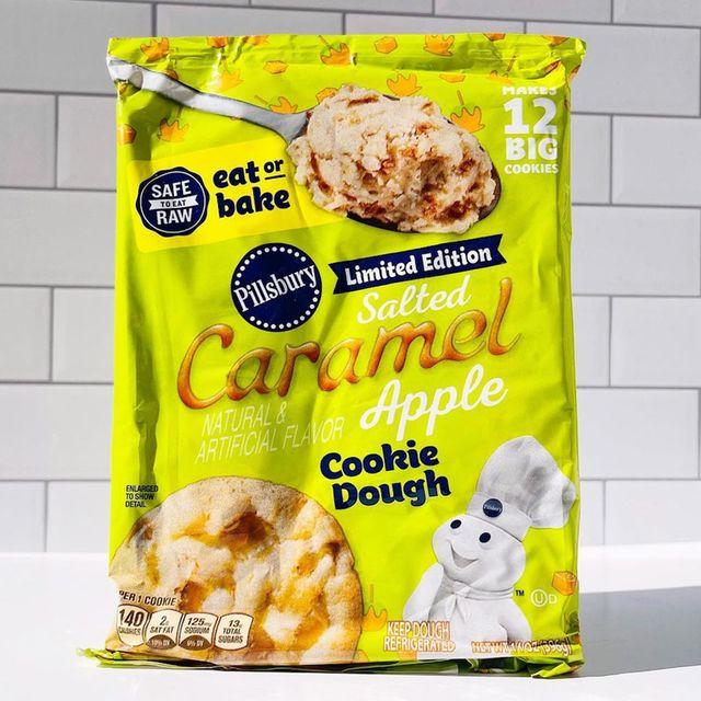 pillsbury salted caramel apple cookie dough