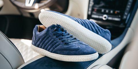 cd5ec0cb19 Piloti Pistone X sneaker in navy blue. Michael SimariCar and Driver