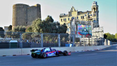 The Formula 1 Azerbaijan Grand Prix 2019