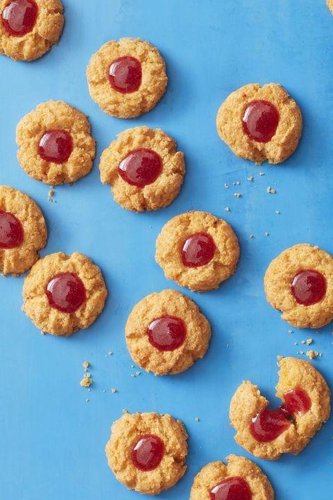 Thumbprint Cookies Pimiento-Cheese Tea Cookies