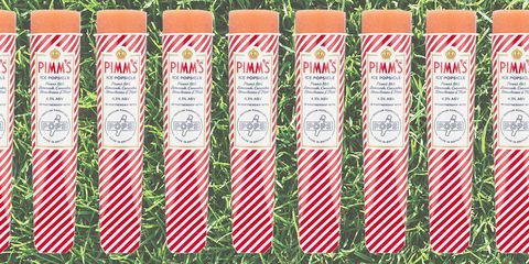 Pimm's ice lollies are a thing and we're obsessed