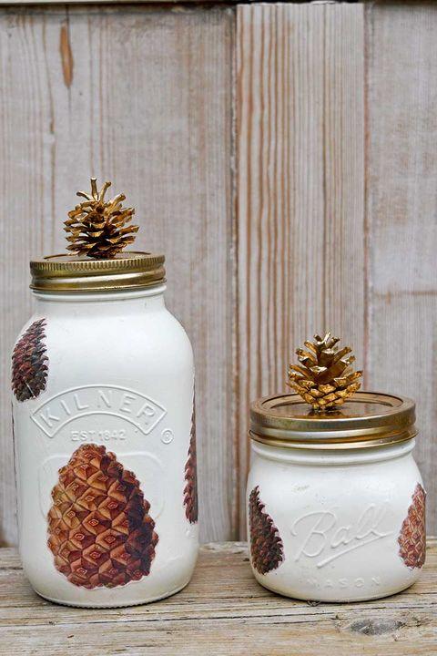29 Mason Jar Fall Crafts Autumn Diy Ideas With Mason Jars