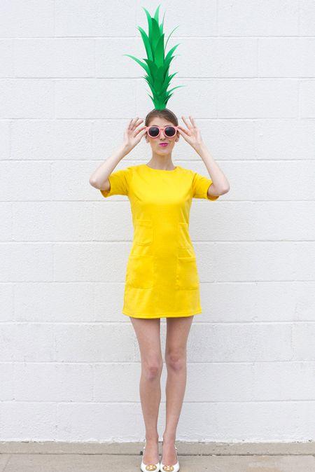Teen Halloween Costumes - Pineapple