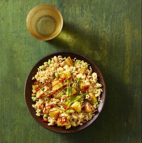 pineapple and cashew fried rice