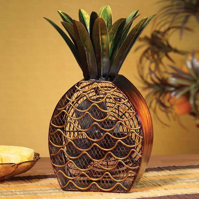 antique pineapple fan